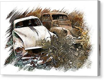 Wreck 3 Canvas Print by Mauro Celotti