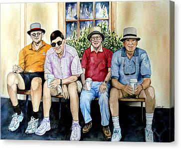 Wwii Heroes Canvas Print by Candy Yu