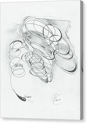 X 4 07 Canvas Print by Xole