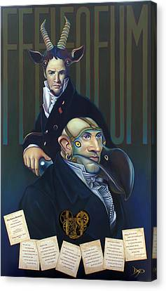 Yak Andrew Bienstjalk Canvas Print by Patrick Anthony Pierson