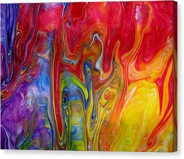 Yellow Deep Canvas Print by G Stewart