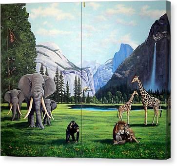 Yosemite Dreams Canvas Print by Frank Wilson