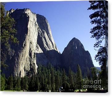 Yosemite Park El Capitan  Canvas Print by The Kepharts