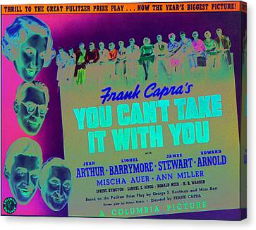 You Cant Take It With You, Jean Arthur Canvas Print by Everett