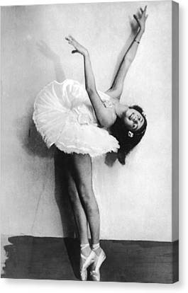 Young Ballerina Canvas Print by Fpg