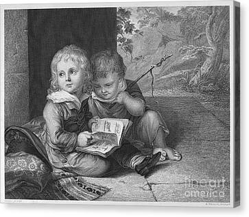 Young Boys, C1795 Canvas Print by Granger