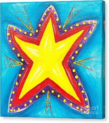 Your A Star Canvas Print by Melle Varoy