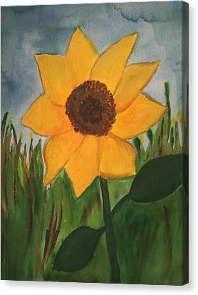 Your Sunflower Canvas Print by Cara Surdi