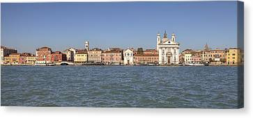 Zattere - Venice Canvas Print by Joana Kruse