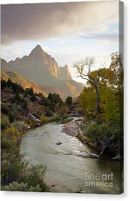 Zion View Canvas Print by Idaho Scenic Images Linda Lantzy