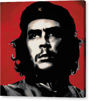 - Che - Canvas Print by Luis Ludzska
