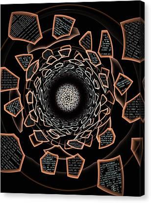 /dev/null Canvas Print by Anastasiya Malakhova
