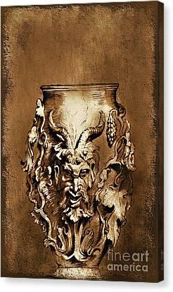 Dionysus.... Canvas Print by Andrzej Szczerski