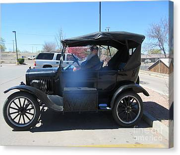 Ford Model T Canvas Print by Frederick Holiday