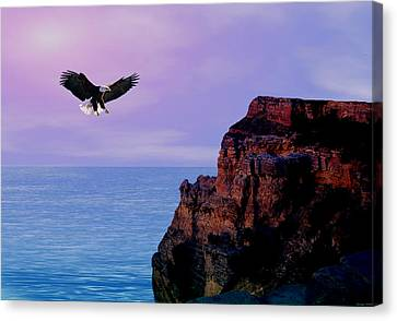 I'm Free To Fly Canvas Print by Evelyn Patrick