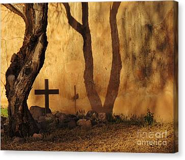 Shadow Of The Past Canvas Print by Feva Fotos