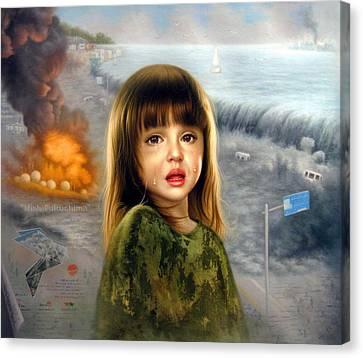Minha Fukushima Canvas Print by Yoo Choong Yeul