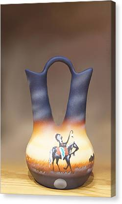 Clay Jug Canvas Print by Art Spectrum