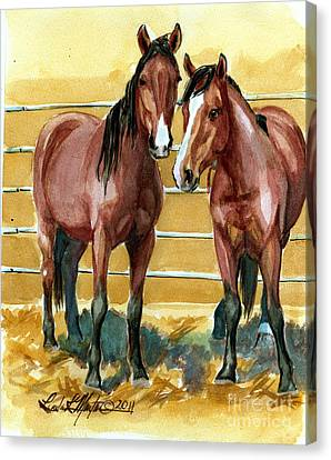 Pick Up Day Canvas Print by Linda L Martin