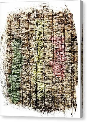 Recycled Paper Canvas Print by Bernard Jaubert