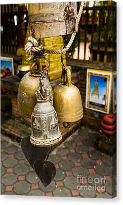 Temple Bell Canvas Print by Honey Bee
