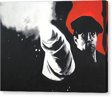 - The Godfather - Canvas Print by Luis Ludzska