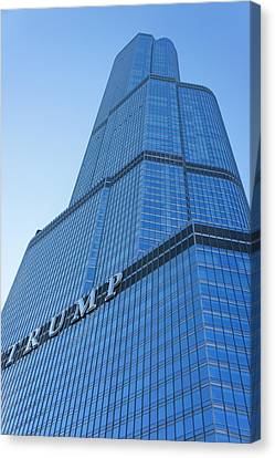 Trump Tower, Chicago. Canvas Print by Art Spectrum