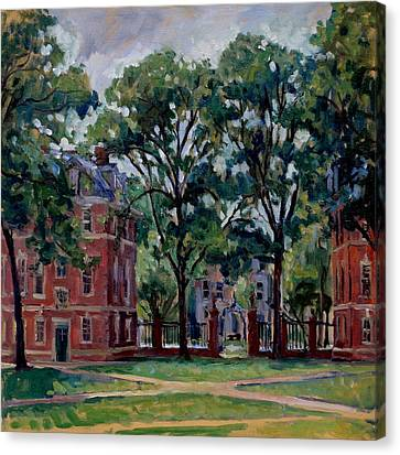 Williams College Quad Canvas Print by Thor Wickstrom