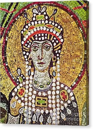 Theodora (c508-548) Canvas Print by Granger