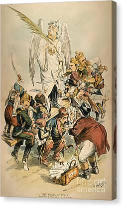 Otto Von Bismarck Canvas Print by Granger