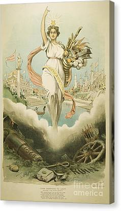 Atlanta Exposition, 1895 Canvas Print by Granger