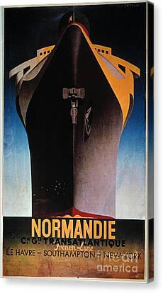 Steamship Normandie, C1935 Canvas Print by Granger