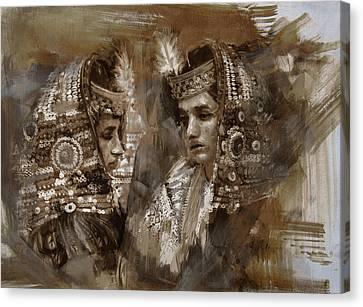 004 Kazakhstan Culture Canvas Print by Mahnoor Shah