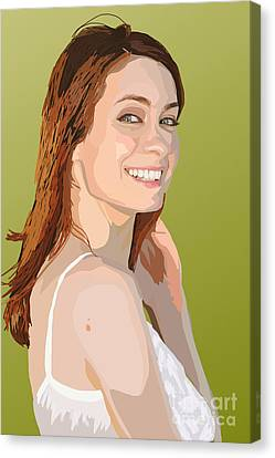 006. A Real Audible Connection Canvas Print by Tam Hazlewood