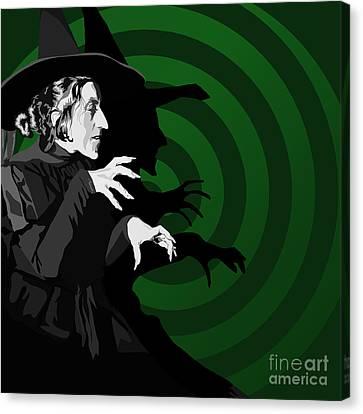 009. Destroy My Beautiful Wickedness Canvas Print by Tam Hazlewood