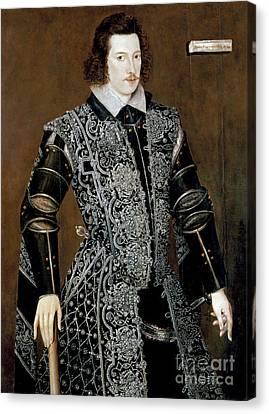 Sir Robert Devereux Canvas Print by Granger