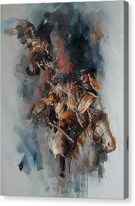 012 Kazakhstan Culture Canvas Print by Maryam Mughal