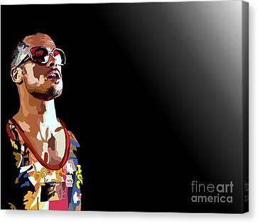 033. We Canvas Print by Tam Hazlewood