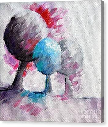044 Arbres Canvas Print by Beatrice BEDEUR