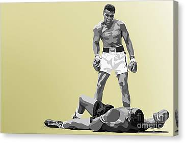 059. Float Like A Butterfly Canvas Print by Tam Hazlewood