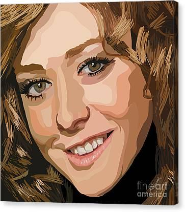 065. I Broke The Yellow Crayon Canvas Print by Tam Hazlewood
