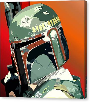 067. He's No Good To Me Dead Canvas Print by Tam Hazlewood