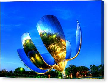 Floralis Generica Canvas Print by Kobby Dagan