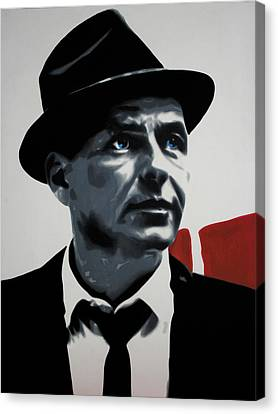 - Sinatra - Canvas Print by Luis Ludzska