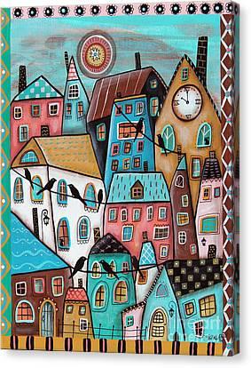 10 O'clock Canvas Print by Karla Gerard