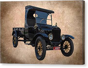 1923 Ford Model T Truck Canvas Print by Nick Gray