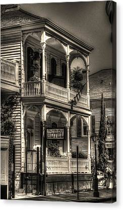 905 Royal Hotel Canvas Print by Greg and Chrystal Mimbs