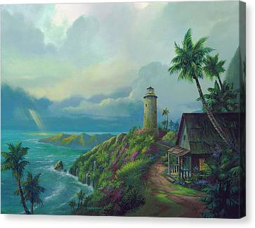 A Small Patch Of Heaven Canvas Print by Michael Humphries