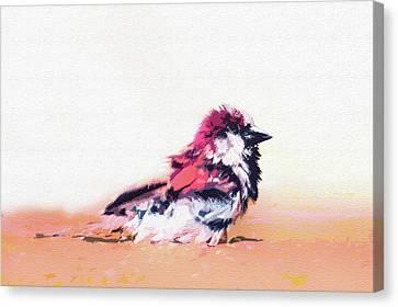 Abstract Bird Canvas Print by Ralph Klein