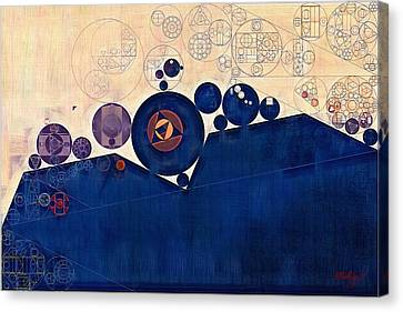 Abstract Painting - Champagne Canvas Print by Vitaliy Gladkiy